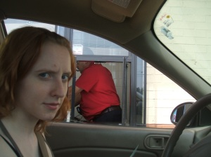 this is dash frowning at the burger king man who got our order wrong. hmph.
